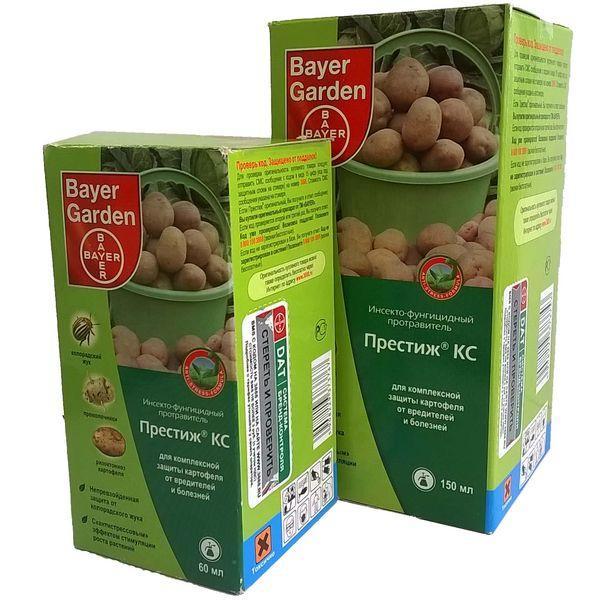 Препарат Табу для обработки семенного картофеля — Sam-Village