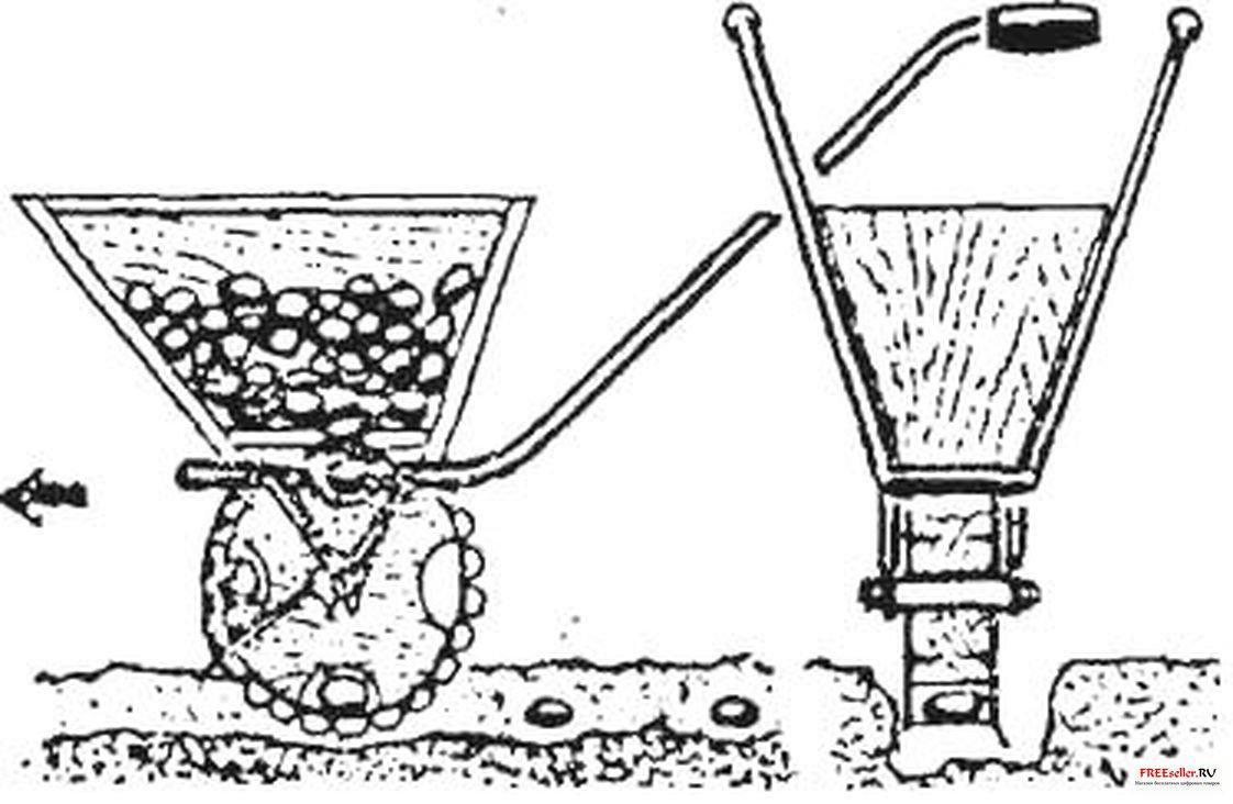 Картофелесажалка своими руками чертежи размеры фото 802