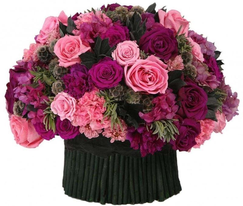Забальзамированные цветы