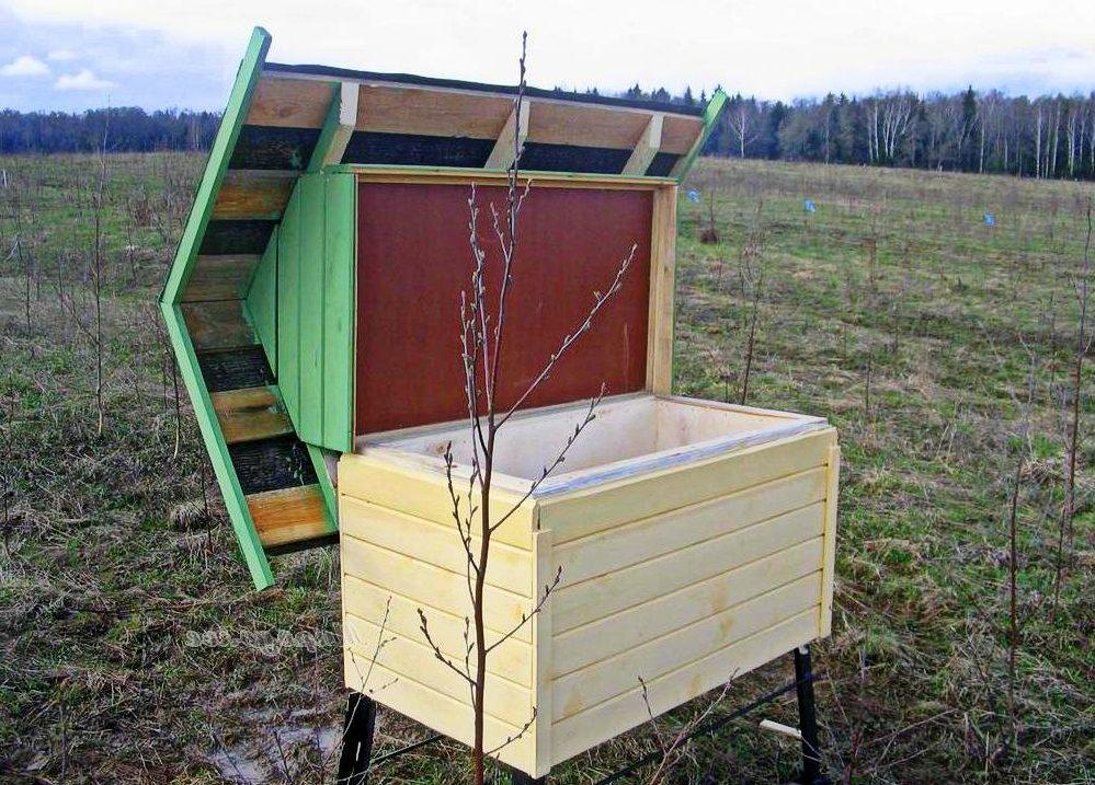 Как организовать пасеку с нуля на даче